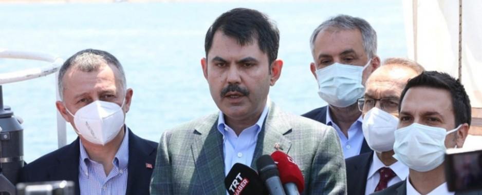 Bakan Kurum Marmara Denizi müsilaj eylem planını açıkladı