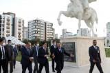 Vali ve kaymakamlar Türk Otağı'nda toplandı