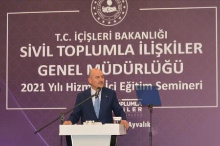 İçişleri Bakanı Soylu: 3600 ek gösterge bizim taahhüdümüzdür