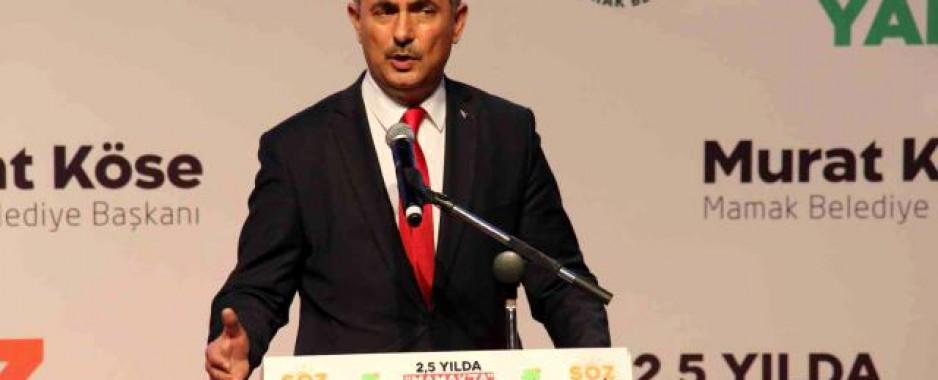 Mamak Belediye Başkanı Köse, iki buçuk yılda hayata geçirilen projelerin sunumunu yaptı