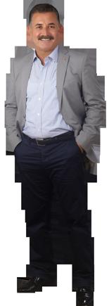 Hamit Tuna Toroslar Belediye Başkanı ve MHP Mersin Büyükşehir Belediye Başkan Adayı