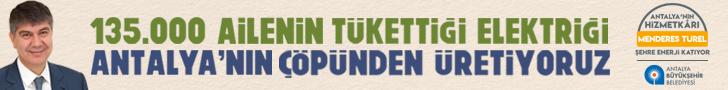 135.000 Ailenin Tükettiği Elektriği Antalya'nın Çöpünden Üretiyoruz.