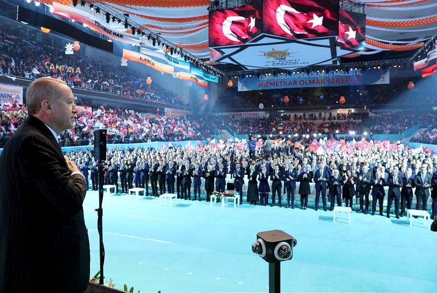 AK Parti Ankara Belediye Başkan Adayları Tanıtım Toplantısı